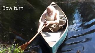 Solo Canoeing Workshop
