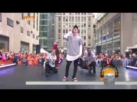 Boyfriend - Justin Bieber (Live on Today Show 2015)