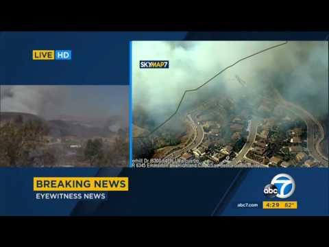 6.27.17 - ABC7 4PM - Mart Fire
