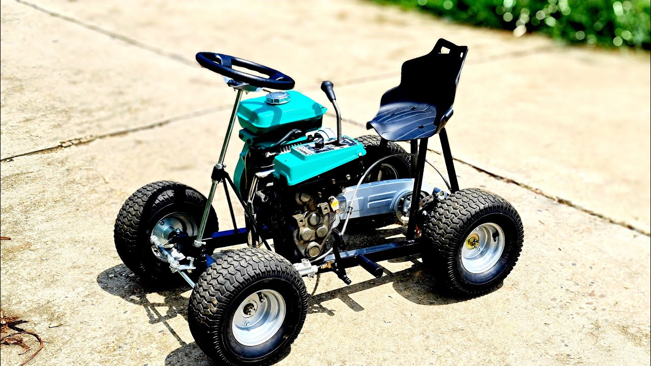 Build A Mini 120cc Go Kart At Home