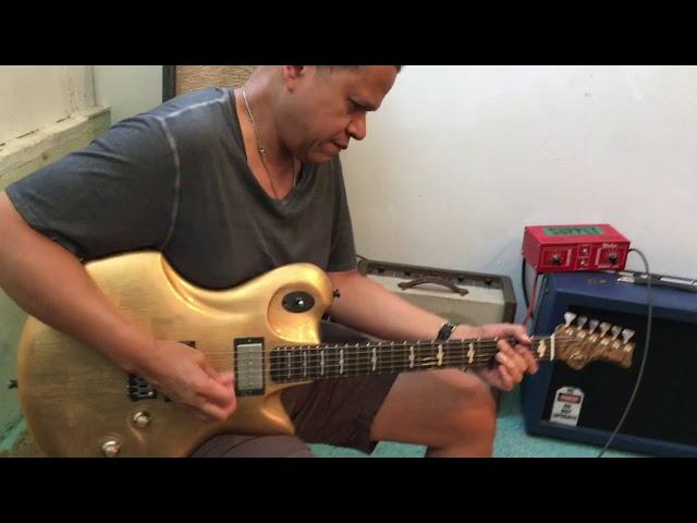 M-tone Guitars  - Custom Gold  - Eddie Martinez