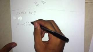 Proses Mengubah Bilangan Desimal ke Bilangan Biner serta cara menjumlahkannya