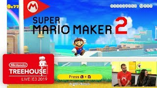 Download Super Mario Maker 2 Gameplay Pt. 1 - Nintendo Treehouse: Live | E3 2019 Mp3 and Videos