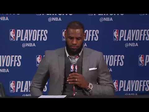 [FULL] LeBron James gets a bit contentious with reporters after Cavs' Game 3 loss | NBA on ESPN