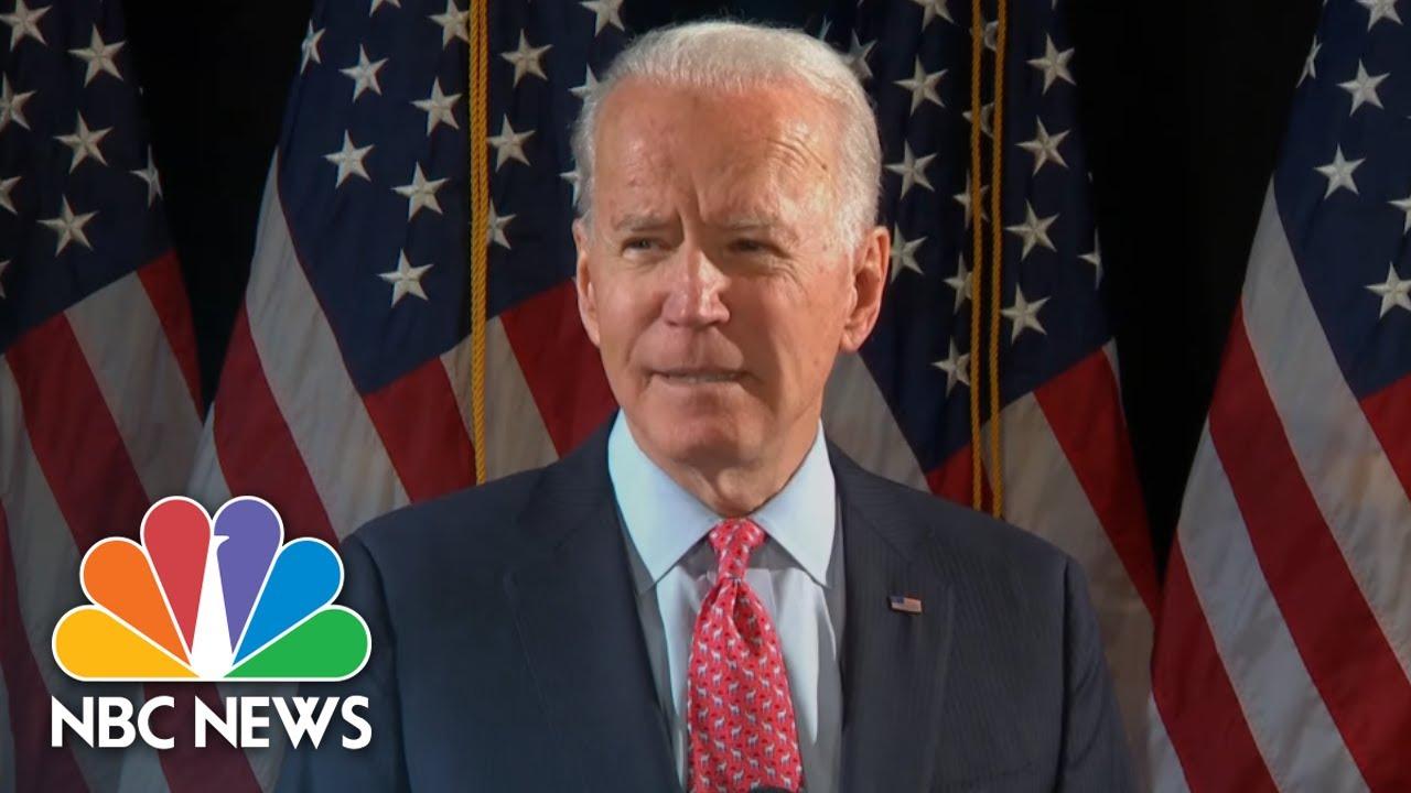 Download Joe Biden Gives Speech On Coronavirus Pandemic | NBC News (Live Stream Recording)