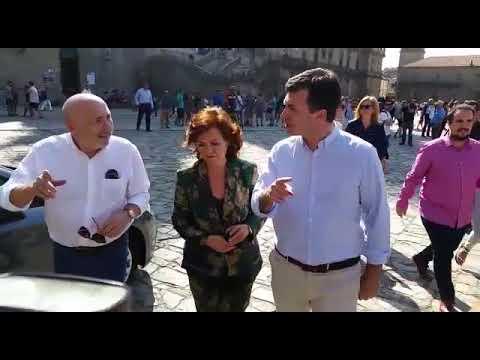 Calvo arropa a los socialistas gallegos en el arranque de su curso político