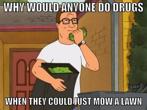 Image result for hank hill fresh lawn