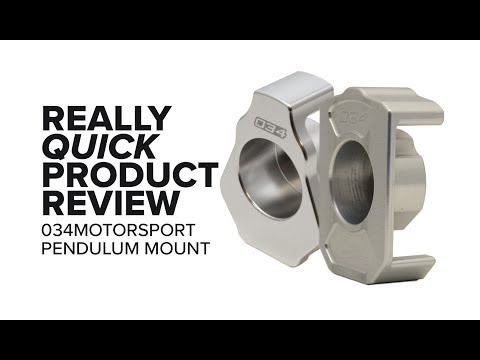 034Motorsport Audi/VW MQB Pendulum/Dogbone Mount - Symptoms, Specs, Diagnosis, and Product Review