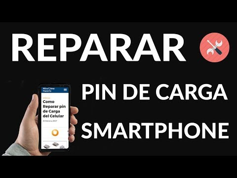 Como Reparar pin de Carga del Celular