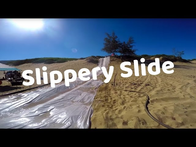 Hawaii Revealed Slippery Slide