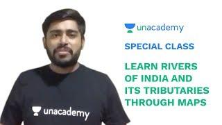 Special Class - Rivers of India and its Tributaries through Maps for UPSC 2019 - Sudarshan Gurjar cмотреть видео онлайн бесплатно в высоком качестве - HDVIDEO