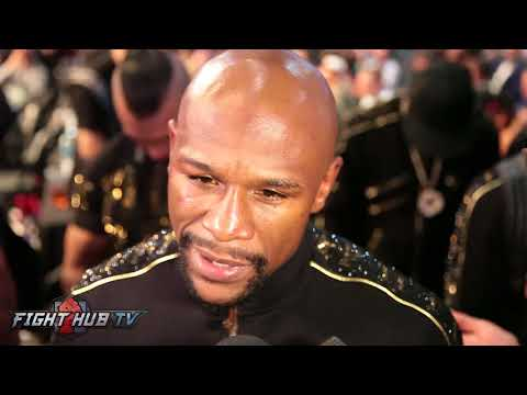"""FLOYD MAYWEATHER """"CONOR IS A TOUGH GUY! IM RETIRED, IM DONE! IM GONNA LIVE MY LIFE!"""""""