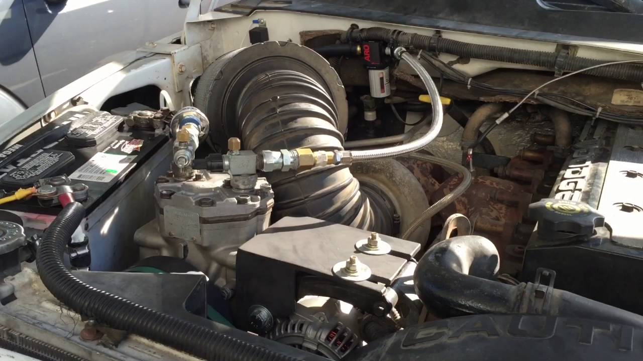 York 210 Air Compressor Install Overview Dodge Ram Cummins