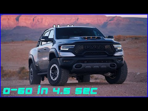 2021 RAM 1500 TRX – Fastest truck in the world