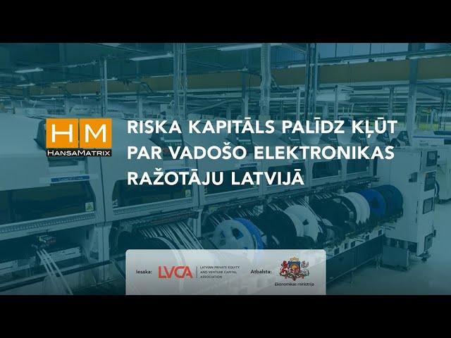 HansaMatrix par riska kapitāla nozīmi