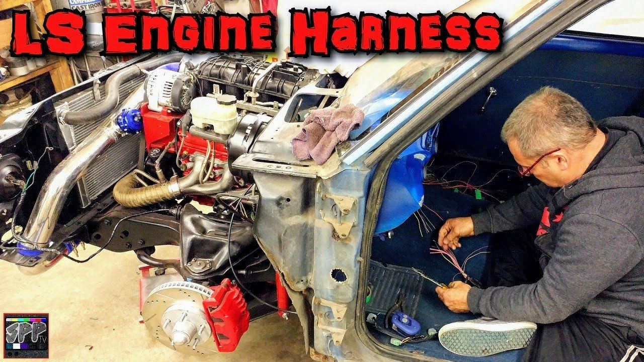 hight resolution of fitting a custom efi harness on the turbo 5 3 ls s 10 diy standalone ecm wiring part 2