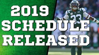2019 Jets Schedule Released  |  What Will Their Record Be??