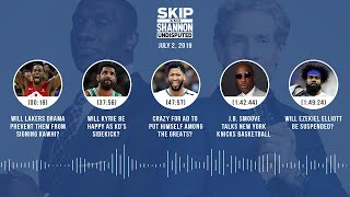 UNDISPUTED Audio Podcast (07.2.19) with Skip Bayless & Shannon Sharpe | UNDISPUTED