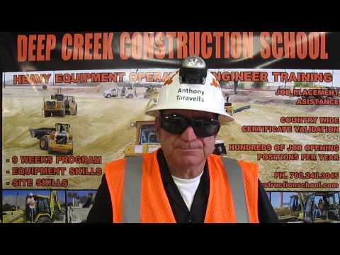 Heavy Equipment Operator Video Resume Of Anthony Taravella