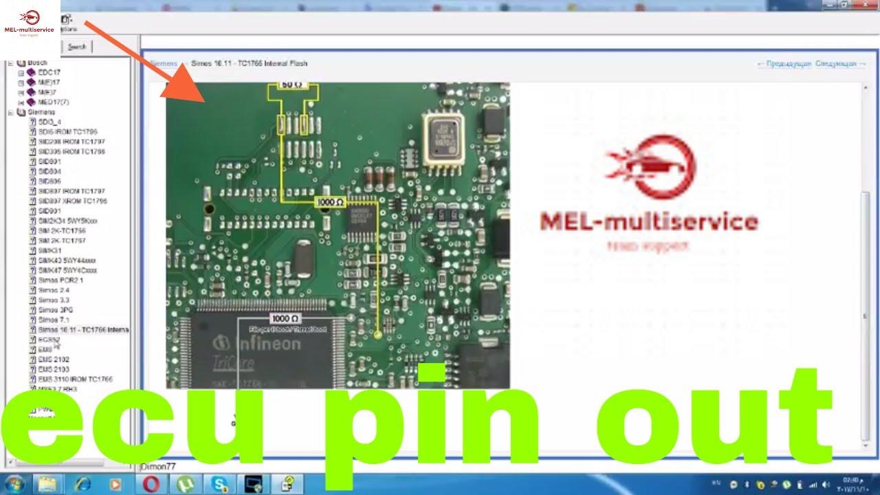Ecu Wiring Diagram Mercedes Corn Anatomy The Pin Out Of Engine Control Units Bosch Siemenental