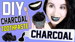 DIY Charcoal Toothpaste! | Whiten Your Teeth With Charcoal! | Naughty Lump of Coal Toothpaste!