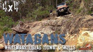 4wd ZigZag Downhill | Skull & Crossbone Uphill | Whitemans | ALLOFFROAD #136