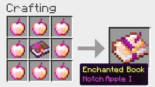 Minecraft UHC but you craft ENCHANTS out of any item...