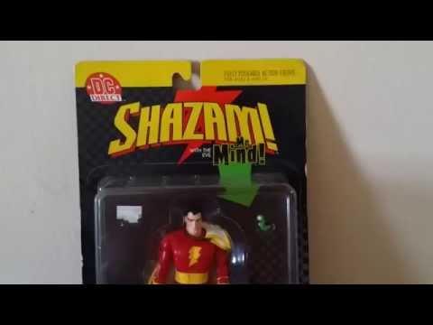 shazam captain marvel dc comics figure review