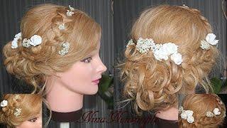 Prom Hairdo/Прическа на выпускной/Популярная прическа/Nina Nonsimple