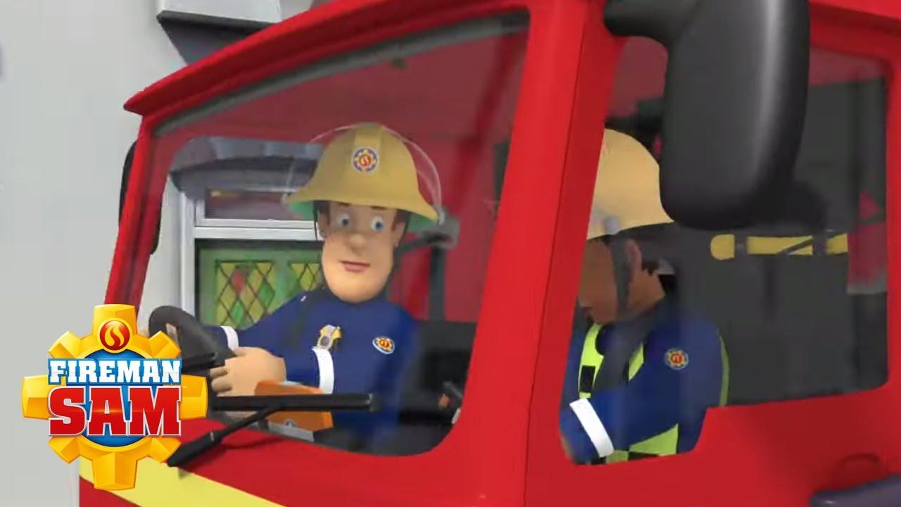 To Rescue a Pizza-Pie!   Fireman Sam US   1 Hour Adventure!  🚒 Cartoons for Kids