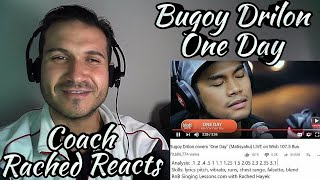 Vocal Coach Reaction + Analysis - Bugoy Drilon - One Day