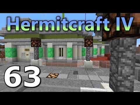 Hermitcraft 4 Ep. 63- Functional Bank!