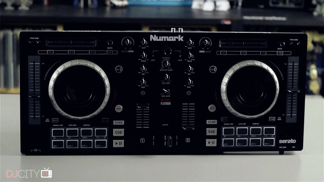 Review: Numark Mixtrack Platinum DJ Controller
