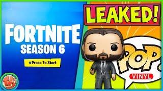 VOORBEREIDING SEASON 6   *LEAKED* FUNKO POPS!! - Fortnite: Battle Royale
