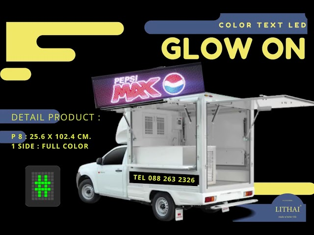 LED Screen for Foodtruck