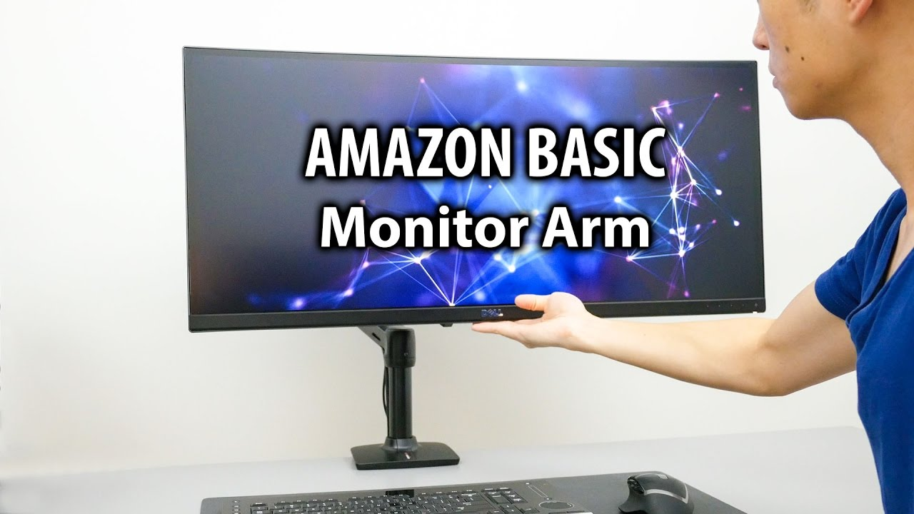 Charmant The Best Monitor Arm For My Ultrawide Monitor?   Amazon Basic Monitor Arm  Mount
