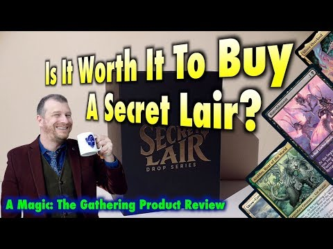 Is It Worth It To Buy A Secret Lair? A Magic: The Gathering Product Review