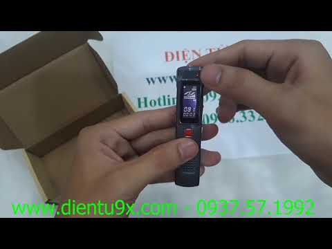 Máy Ghi Âm Giá Rẻ DV-100 8GB