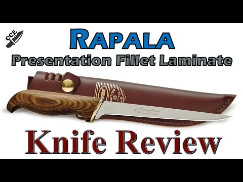 🔪 Review Of The Rapala Presentation Fillet Laminate Fishing Knife 🎣