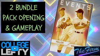 2 BUNDLE PACK OPENING! EVENT GAMEPLAY VS A TOP PLAYER! MLB THE SHOW 18