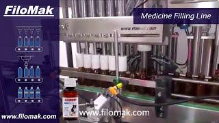 FiloMak Liquid Medicine Fill Line