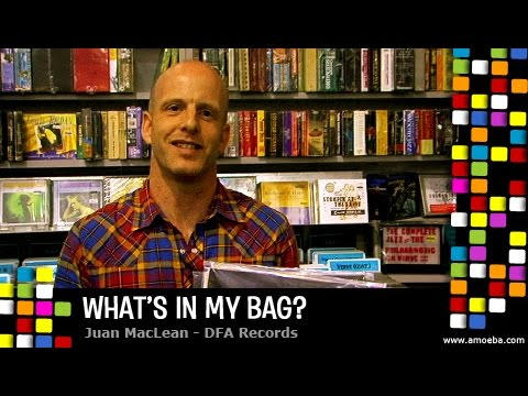 The Juan MacLean - What's In My Bag?