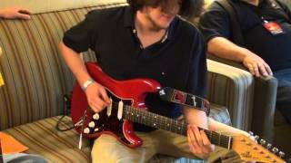 PJ Brutzman playing Zexcoil Vintage Single 5, FUCHS Full House 50 NY Amp Show 2013 #2