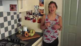 Healthy Smoothie, frullato di melone, papaya e fiore di sambuco | In Cucina con Meg