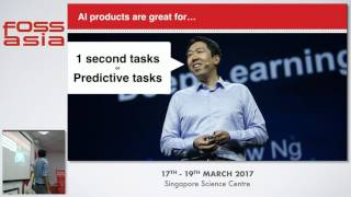 Building a Micro AI company in 2017 - Spencer Yang - FOSSASIA Summit 2017