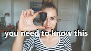 MENSTRUAL CUPS // 8 things I wish someone had told me