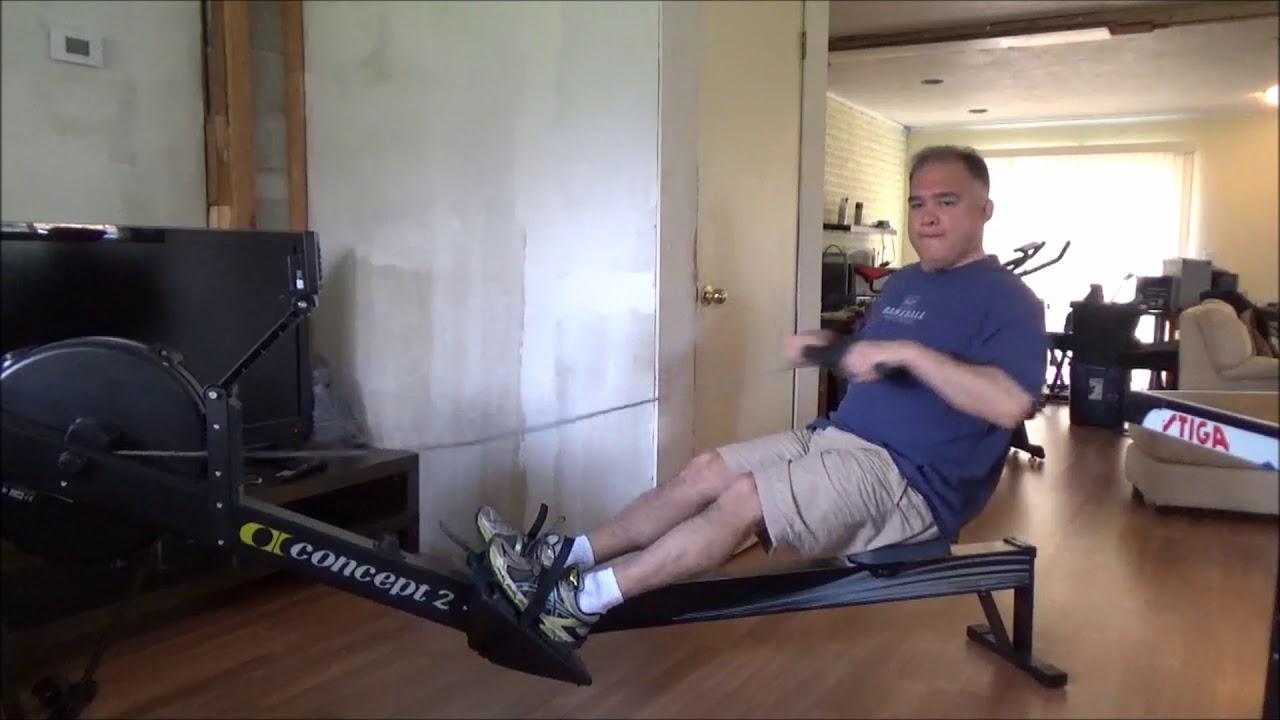 Noise levels concept rower rogue echo bike titan indoor