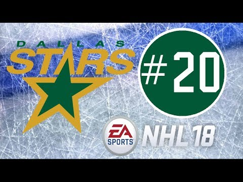 NHL 18 ~ Dallas Stars Franchise Mode Commentary ~ #20 (Thank You Vancouver!)