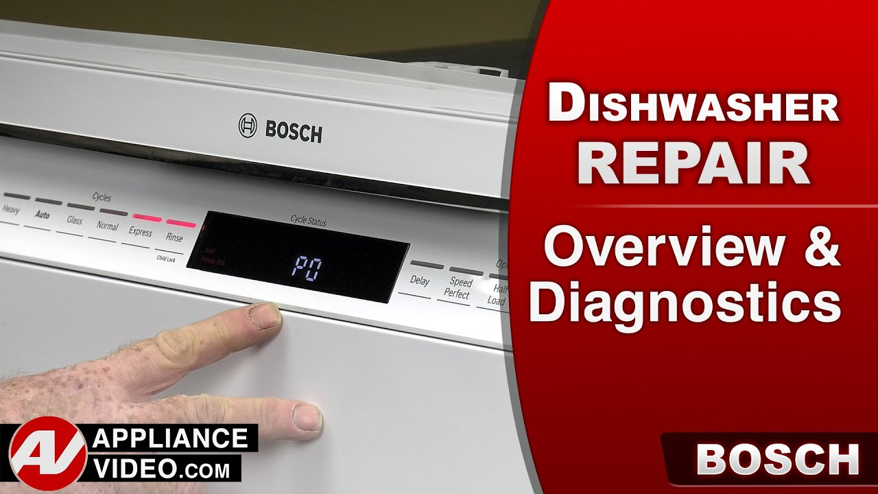 Bosch Dishwasher - Overview and Diagnostics