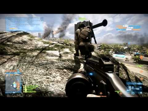 Battlefield 3 MP - WookWook Call of Duty Blackout Weekend - Gulf of Oman CQ 2